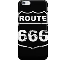 Route 666 (Inspired By Natural Born Killers)  iPhone Case/Skin