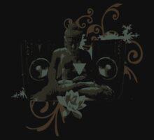 Psytrance Rave Buddha by Jack Daly