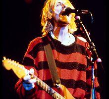 Kurt Cobain - Rocking out by rikovski