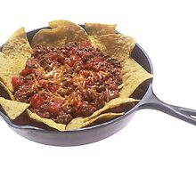 Chili Cheese Nachos by BravuraMedia
