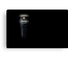 a pint of the black stuff Canvas Print