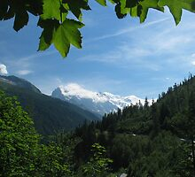 Chamonix Hills by Chris Rollason