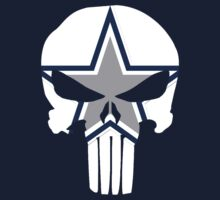 Dallas Cowboys Punisher Skull v2 by Quik86