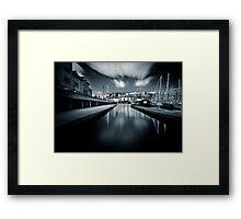 Bristol marina Framed Print