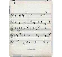 Black Birds iPad Case/Skin