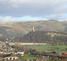 Wallace Monument, Stirling, Scotland by MissLizzy