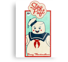 Ghostbusters (Stay Puft)  Metal Print
