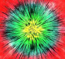 Colorful Vintage Tie Dye by Phil Perkins