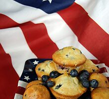 Red, White and Blueberry by Maria Dryfhout