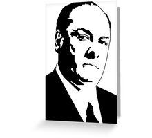 JAMES GANDOLFINI TONY SOPRANO GRAPHIC ART PORTRAIT Greeting Card