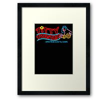 Titty Twister (from Dusk till Dawn) Framed Print