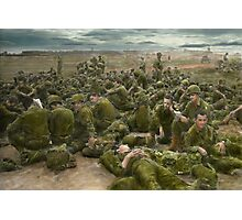 War - A thousand stories Photographic Print