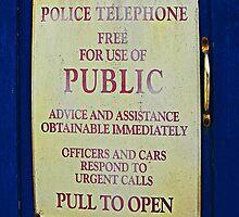 Tardis sign by buttonpresser