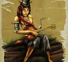 Mandolin Player by Silverblue