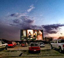 At The Drive-In Movies by Terry Doyle