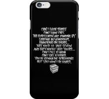 Buffy - Hush Song iPhone Case/Skin
