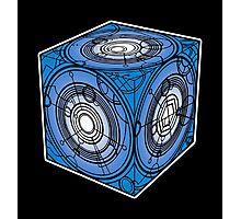 "Tardis ""Siege Mod"" Blue - Doctor Who Photographic Print"