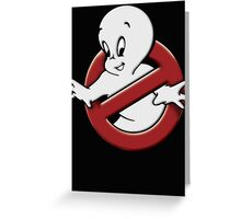 Casper (ghostbusters parody) Greeting Card