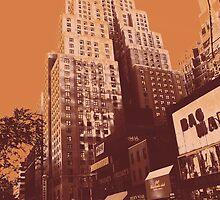 New Yorker, Manhattan New York City by Lunatic