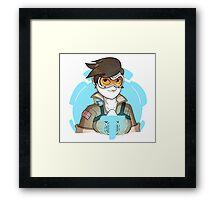 Overwatch: Tracer Framed Print