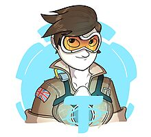 Overwatch: Tracer Photographic Print