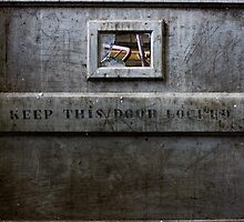 keep this door locked by rob dobi