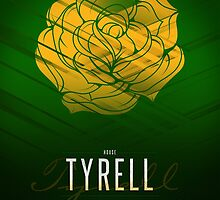 House Tyrell Sigil III (house words) by P3RF3KT