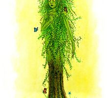 Willow Dryad by Lizzy D
