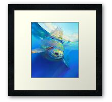 Travel in style Framed Print