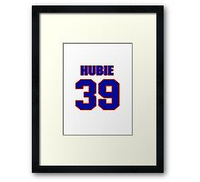 National Hockey player Hubie McDonough jersey 39 Framed Print