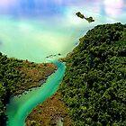 lake miramar, Argentina by chord0