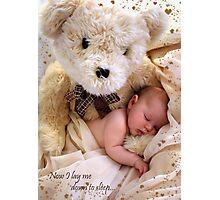 Teddy Bear Dreams Photographic Print