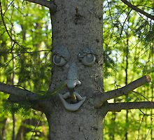 Clark's Tree Face by TerriRiver