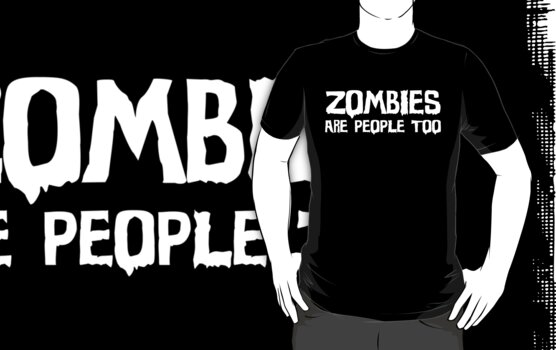 Zombies Are People Too by xTRIGx