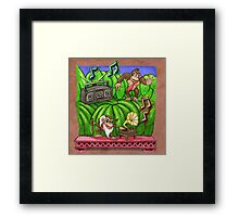 Jammin' in the Jungle Framed Print