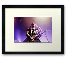Sleeping With Sirens 04 Framed Print