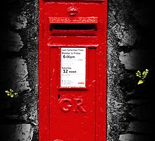 Postbox by Richard Hamilton-Veal