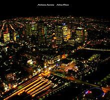 Eureka View - Melbourne Australia by Andrew Wilson
