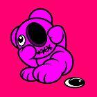 Missing Eye Teddy Bear by Sookiesooker
