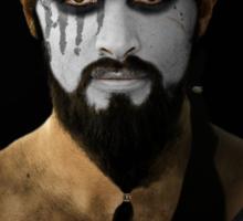 Khal Drogo Dothraki King House War Paint Sticker