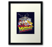 Quack To The Future Framed Print