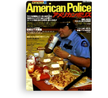 American Police Canvas Print