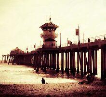 Summer Memories of the Pier by Barbara Gordon