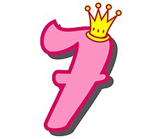 7th birthday princess party theme and gifts by Tee Brain Creative
