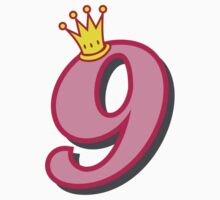 9th birthday princess party theme and gifts Kids Clothes