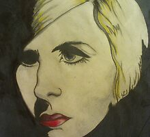 portrait of Blond by scaroby