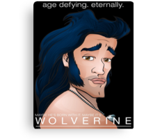 Maybe He's Born With It. Maybe It's Wolverine. Canvas Print