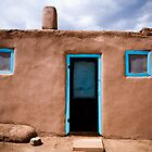 Taos Pueblo by doorfrontphotos