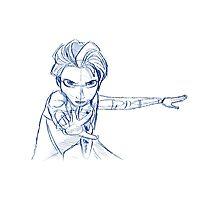Pencil Elsa by Minette Wasserman