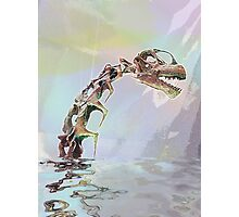 Monster of Loch Ness Photographic Print